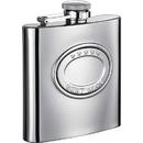 Visol 5 Stars Best Man 6oz Stainlesss Steel Hip Flask