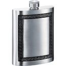 Visol Kalos Greek Design Genuine Pewter 6oz Hip Flask
