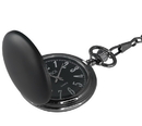 Visol Ravenclaw Black Matte Quartz Pocket Watch
