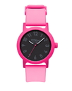 Vestal ALP3P03 Alpha Bravo Plastic Watch - Hot Pink/Black