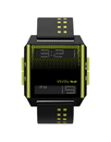 Vestal DIG031 Digichord Watch - Black/Flourescent Yellow