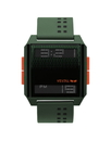 Vestal DIG035 Digichord Watch - Army/Orange