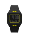Vestal HLMDP10 Helm Watch - Black/Neon Yellow
