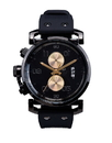 Vestal OBCS012 USS Observer Chrono Watch - Black/Black/Gold