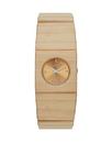 Vestal RWS3W02 Rosewood Slim Watch - Bamboo (Real Wood)
