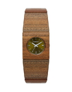 Vestal RWS3W03 Rosewood Slim Watch - Sandalwood (Real Wood)
