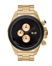 Vestal ZR3032 ZR3 Minimalist Watch - Gold/Black/Polished/Minimalist