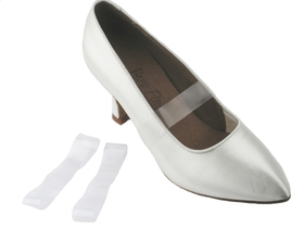Very Fine Clear Elastic Shoe Straps, Price/pair