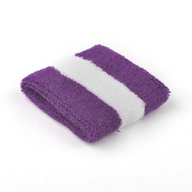 GOGO Striped Wristband Sweatband - 12 Pieces