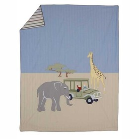 Whistle & Wink W9BD04 Adventure Big Art Reversible Duvet Cover