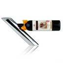 Aspire Stainless Steel Wine Bottle Holder Gravity Defying, Balancing Bottle Stand