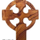Olivewood Celtic Cross Necklaces