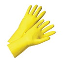 West Chester Premium Flocked Yellow-Latex Coated Gloves