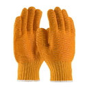 West Chester Gold Honeycomb PVC Grip String Knit Gloves