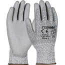 West Chester Gray PU Coated Speckle Gray HPPE Fiber Gloves