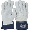 West Chester Premium Heavy Split Cowhide Palm Full Leather Back Gloves, IC6
