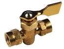 Whitecap Brass 2-way shut off valve 1/4