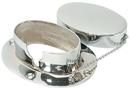 Whitecap C.P. Brass Chain & Rope Deck Pipe