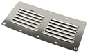 Whitecap S.S. Louvered Vent: 4-1/2