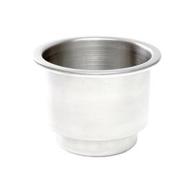 Whitecap 304 S.S. Cupholder w/Drain