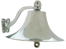 Whitecap Polished Brass Cast Bell - 8