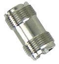 Whitecap C.P. Brass Double Female UHF Connector