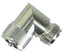 Whitecap CP Brass UHF Right Angle Connector