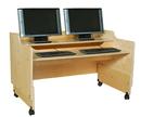 Contender C41048 Mobile Computer Desk, RTA - 48