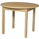 Wood Designs HPL36RNDHPL29 Round High Pressure Laminate Table with Hardwood Legs- 29