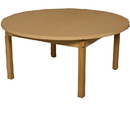 Wood Designs HPL48RNDHPL16 Round High Pressure Laminate Table with Hardwood Legs- 16