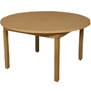 Wood Designs HPL48RNDHPL29 Round High Pressure Laminate Table with Hardwood Legs- 29