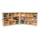 Wood Designs WD13700 Folding Storage, 38