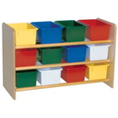 Wood Designs WD13803 See-All Storage with (12) Assorted Trays , 21.00