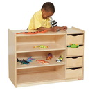 Wood Designs WD14475 Storage Center with Drawers , 26.00