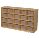 Wood Designs WD14501 20 Tray Storage with Translucent Trays , 30.00
