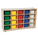 Wood Designs WD14503 20 Tray Storage with Assorted Trays , 30.00