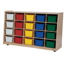 Tip-Me-Not WD14583 20 Tray Storage with Assorted Trays , 30.00