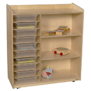 Natural Environments WD15131 Sensorial Discover Shelving with Translucent Trays , 41.00