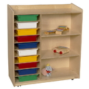 Natural Environments WD15133 Sensorial Discover Shelving with Assorted Trays , 41.00