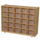 Wood Designs WD16001 25 Tray Storage with Translucent Trays , 38.00