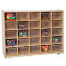 Tip-Me-Not WD16081 25 Tray Storage with Translucent Trays , 38.00