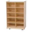 Wood Designs WD16109 Vertical Storage without Trays , 38.00