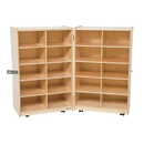Wood Designs WD16209 Folding Vertical Storage without Trays , 38.00