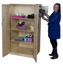 Wood Designs WD18400 Teacher's Locking Cabinet , 61.00
