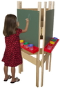 Wood Designs WD18600 3-Sided Adjustable Easel with Chalkboard , 48.00