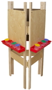 Wood Designs WD18700 3-Sided Adjustable Easel with Plywood , 48.00