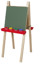 Wood Designs WD18900 Double Adjustable Easel with Chalkboard , 46.00