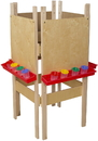 Wood Designs WD19100 4 Sided Easel with Plywood , 48.00
