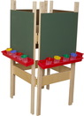 Wood Designs WD19175 4 Sided Easel with Chalkboard , 48.00