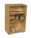 Wood Designs WD25000AJ Storage with Adjustable Shelves , 38.00